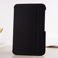 New Voltage Pattern Folding Folio Leather Case Stand Cover for Samsung Galaxy Tab 2 P3100 P3110 7 inch Tablet Free Shipping