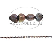 Free shipping!!!Baroque Cultured Freshwater Pearl Beads,Kawaii,, 5-6mm, Hole:Approx 0.8mm, Length:14.5 Inch, Sold Per 14.5 Inch