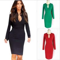 2013 new women lady sexy dress xl xxl fashion slim hip plus size one-piece dress der  free shipping