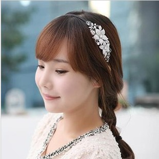 Free shipping Hair accessory hair accessory alloy rhinestone gentlewomen hair bands headband