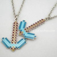 MINECRAFT CREEPER my world creeper  pendant JJ strange coolie afraid alloy necklace