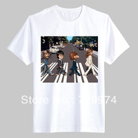 Beatles Abbey Road is not the same as before thick cotton t shirt vintage fashion