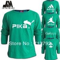 luminous long sleeve t shirt plus size 5xl men fashion designer aleatory logo tshirt o neck cotton autumn  s- xxxxxl