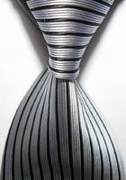 New Silk Striped Gray JACQUARD WOVEN Silk Men's Tie Necktie T3