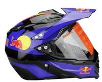 HJC motorcycle helmet. Motocross Helmets. Motorcycle personal protective helmets. Cow pattern.