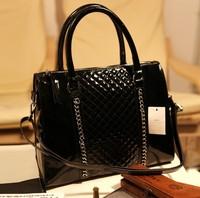 Маленькая сумочка New 2013 Designer brief candy color women leather handbag casual crossbody bags for women fashion shoulder bag