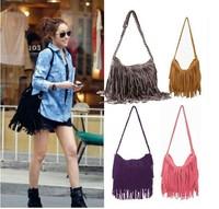 Hot Selling Retro Tassel Women Shoulder Bag Cross_body Bag Hotsale New