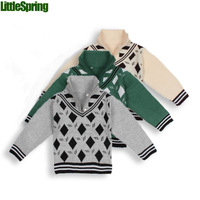 HOT SALE New 2013 Free Shipping Autumn Children Sweater Baby Boys Girls Lovely Weaving Sweater  Little Spring GLZ-S0171