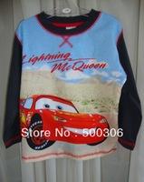 boy long sleeve car t-shirt kids cool cartoon tee kids top