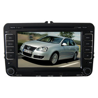 "In Dash 2 Din HD 7"" Car PC DVD GPS For VW Magotan Eos Jetta Golf Passat Seat With Canbus Auto Stereo Radio"