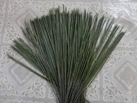 100X Wire Stems 2mm Plastic Wrapped Stems For Artificial Flower DIY Crafts Materials