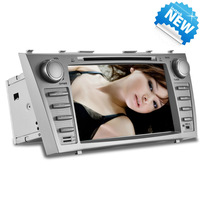 Free Shipping 1 pc Special Car DVD Player for Toyota Camry 8 inch HD Screen with GPS Car Radio