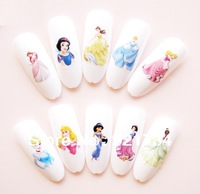 Big size 11 parts Diy nail art stickers  printing watermark applique decal hot sale 3D water transfer