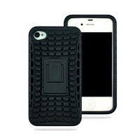 Case for iphone 4s,new arrival Hybrid Protective Hard Silicone Case Cover For iphone 4 4G 4S, free ship