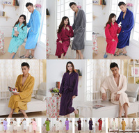 Hot-selling bathrobes thickening coral fleece robe flannel robe coral fleece bathrobe