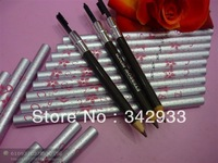 10PCS/LOT Free shipping!2013 New arrival!Double extendable Eyebrow pencil and brush