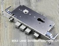 68mm entirety 304 stainless steel lock body lock door lock Left inside to open the door Free shipping