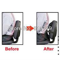 New Mesh Lumbar Back Brace Support Car Seat Chair Cushion Black
