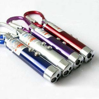Mini money detector flashlight violet lamp infrared laser flashlight money detector pen money detector machine three-in
