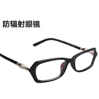 Bamboo Metal style men women glasses frames radiation-resistant clear lens computer goggles free shipping 0115
