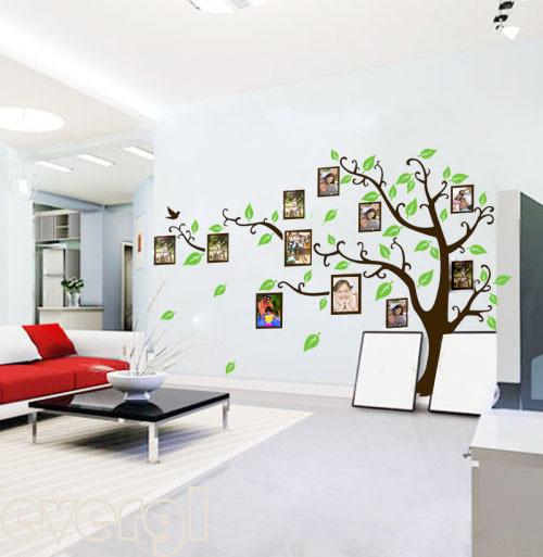 Arbol genealogico en pared - Imagui