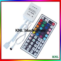 5pcs/lot!RGB 44key IR remote controller, led strip 5050/3528 infrared remote color controller, DC12V-24V free shipping