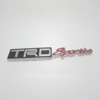 Free shipping 10pcs/lot TRD sports Car beauty refit car stickers trdsport in net alias metal emblem