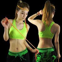 Female hiphop hip-hop hiphop ds costume neon vest sports leotard costume  Free shipping