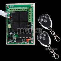 NEW # 433MHZ 315 MHz DC12V 4CH RF Wireless Remote Control Switch Controllers & Rceiver Modules