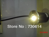 Wholesales  1*1W LED Underground Light 2800-6500K IP67 2 years Warranty CE&ROHS Free Shipping