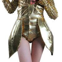 Fashion fashion ds costume sexy high waist style corset dj female singer costumes  Free shipping