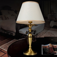 Fashion decoration copper lamp bedside table lamp decoration lighting lamps