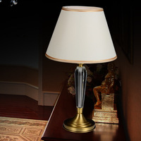 Fashion ofhead copper table lamp exquisite household lamp decoration lamps