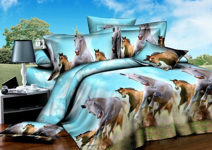 Shop Popular Horse Comforter Bedding From China Aliexpress