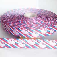 "Free shipping 7/8""  its so fluffy grosgrain ribbon, 50yards fabric tape"