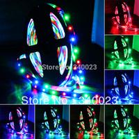 New Multi-color 3528 5M 300 Leds SMD LED light Flexible Strip Strings Christmas Lights 60Leds/M 12V, MC
