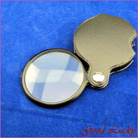 5 PCS/Lot New Disk Pocket Spiegel Loupes Magnifier Magnifying Glass A40006