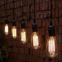 Vintage Edison Bulb Pendant Lamp bulb chandeliers pendant ceiling lamp single lighting lamp for dining room bedroom 5pcs/ lot