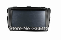 KIA sorento 2013 car DVD GPS player WinCE6.0 with canbus  free map card