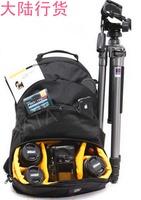 2014 Top Fasion Special Offer Nylon Your Shoulders Business Kata Inkatha Dr-466i Double-shoulder Backpack Digital Tripod