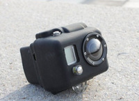 Universal Generic Protective Silicone camera Case For Gopro Hero 2, Dustproof Anti-Fog Proective Housing Free Shipping