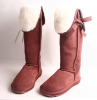 Emu bandage barreled snow boots sheepskin wool 6 variety of draw