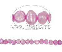 Free shipping!!!Baroque Cultured Freshwater Pearl Beads,New, 5-6mm, Hole:Approx 0.8mm, Length:14.5 Inch, Sold Per 14.5 Inch