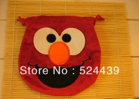 Plush toys, plush cartoon pocket pocket bags series of sesame street. hot sale baby wallet