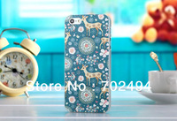 New Arrival,Stained Style Plastic Case For Apple Iphone5 5G,For iphone5 Painted Case