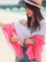 2013 flower scarf silk scarf cape