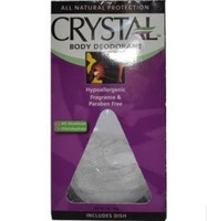 2013New 5 oz (140 g)  Crystal Body Deodorant, Deodorant Crystal natural mineral salt deodorant body Antiperspirant stick