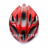 Free Shipping High Quality Cycling Superlight Helmet For Road MTB Bike Black and Red  Adult