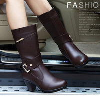 FREE SHIPPING! women Boots female spring autumn winter 2013 fashion women's leather boot
