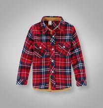 2014 niños primavera otoño de algodón camisas a cuadros británico clásico bebé niños niñas londres estilo desgaste inferior blusa camisa de cuadros(China (Mainland))